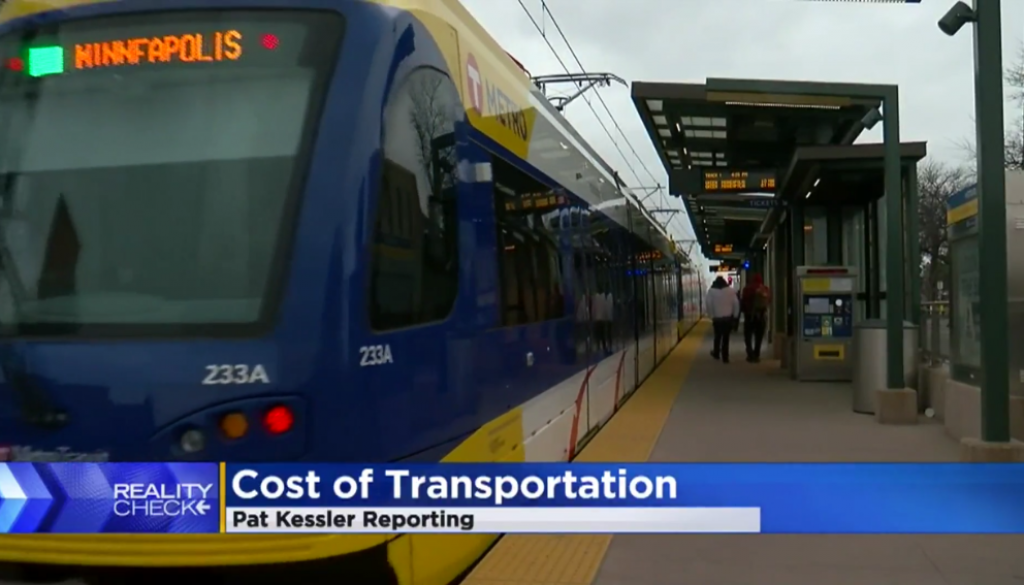 cost of subsidized transit